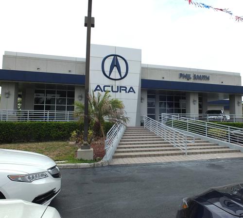 Phil Smith Acura Car Dealership Pompano Beach Florida