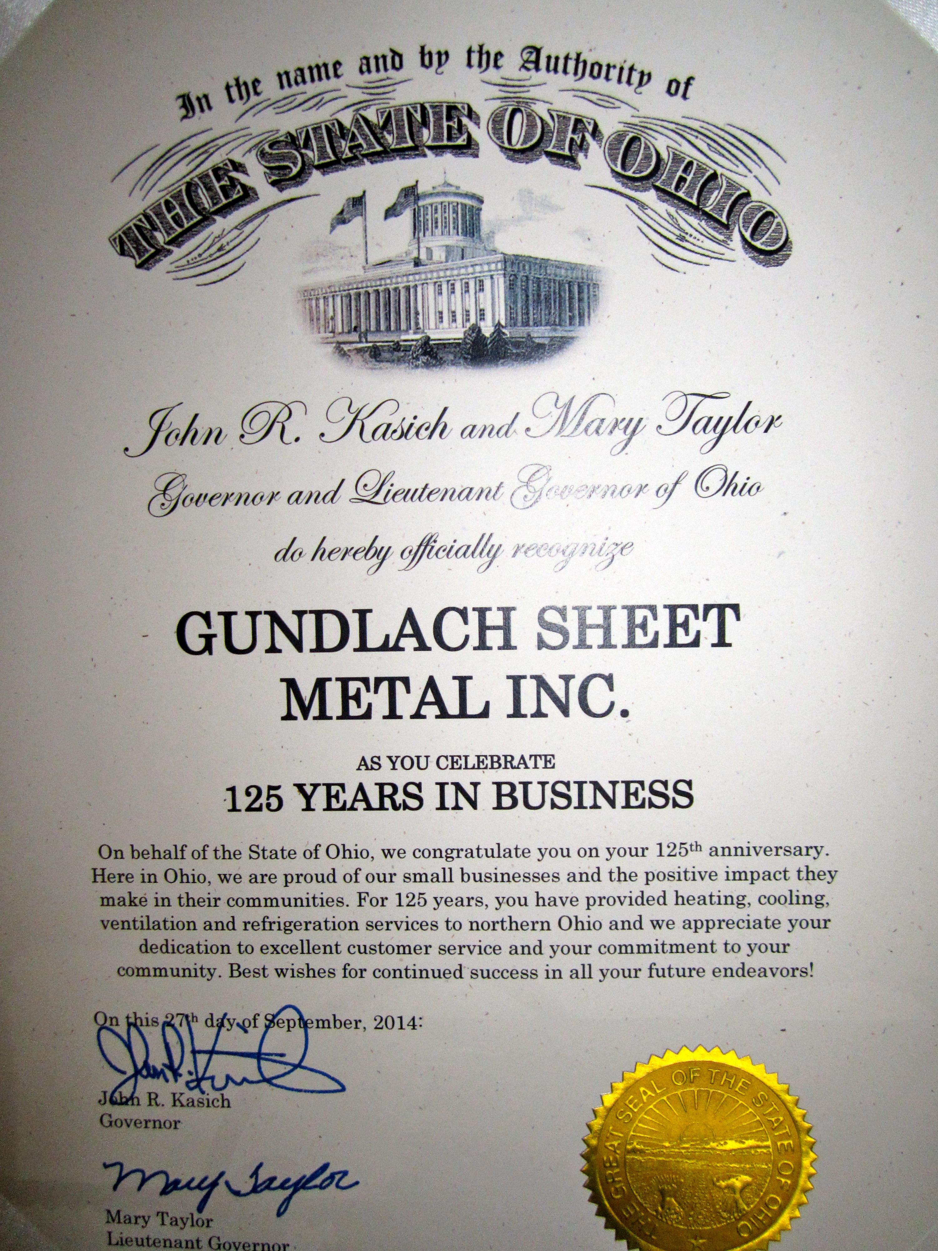 Gundlach Sheet Metal Works Inc image 0
