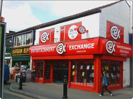 Cex In Ashton Under Lyne Lancashire Mobile Phone Shops Uk