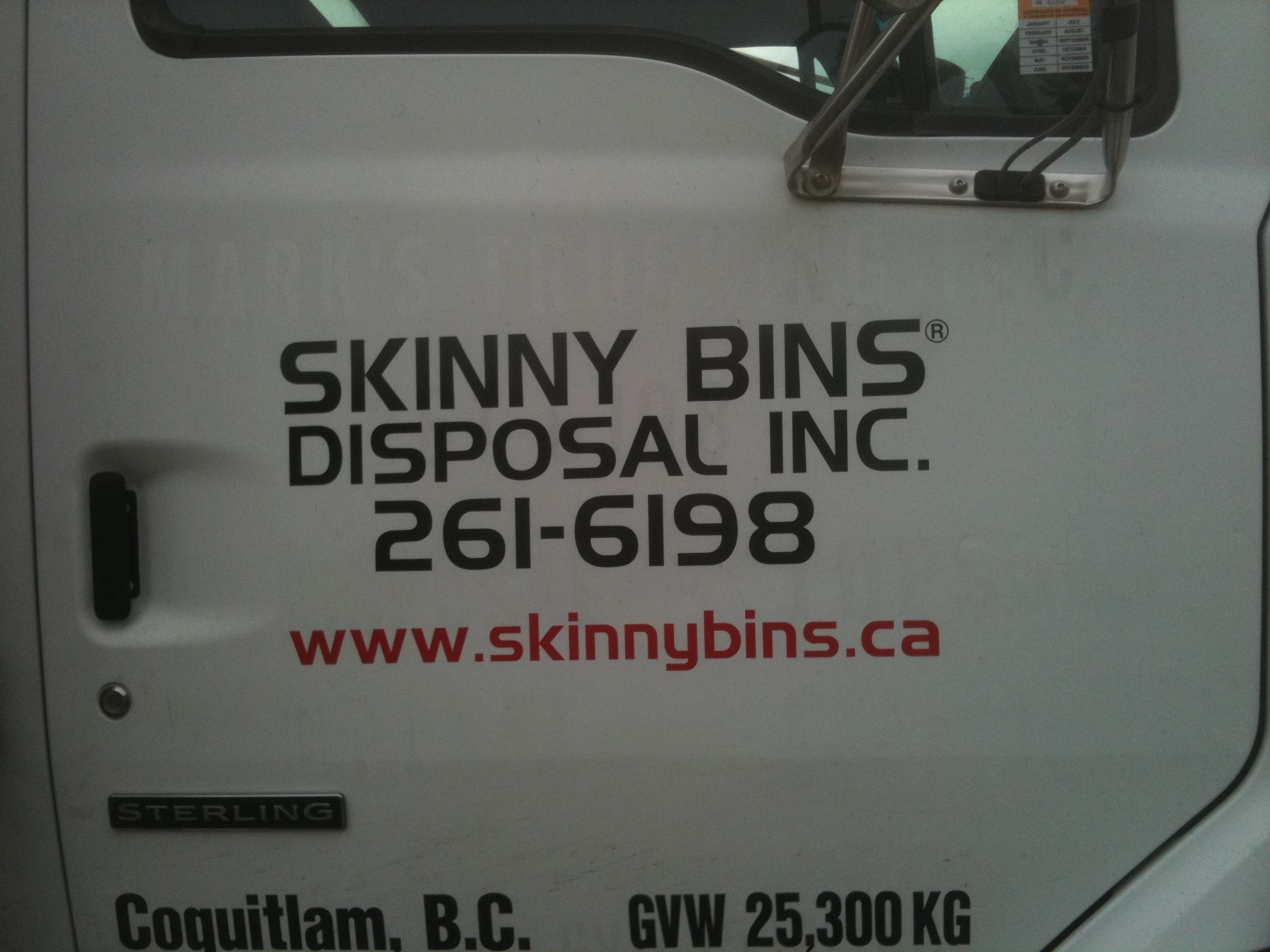 Skinny Bins Disposal in Coquitlam