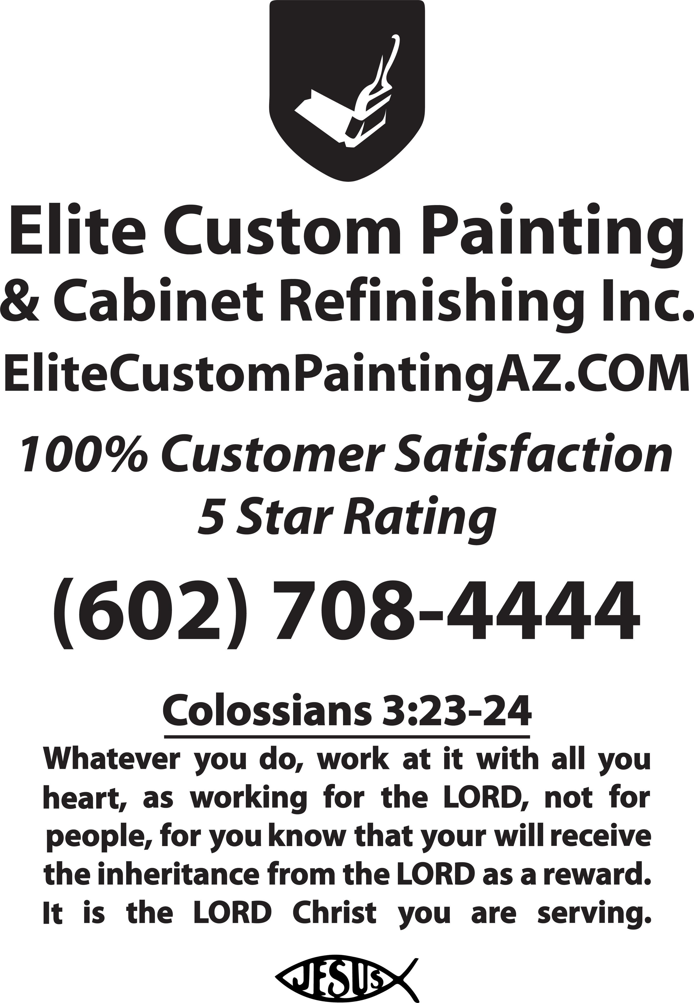 ELITE Custom Painting & Cabinet Refinishing Inc image 0
