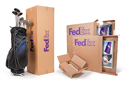 Large Boxes.  Specialty Boxes for shipping with FedEx Express and FedEx Ground.