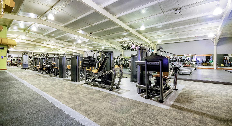 David lloyd southampton fitness equipment in