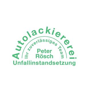 Logo von Autolackiererei Unfallinstandsetzung Peter Rösch