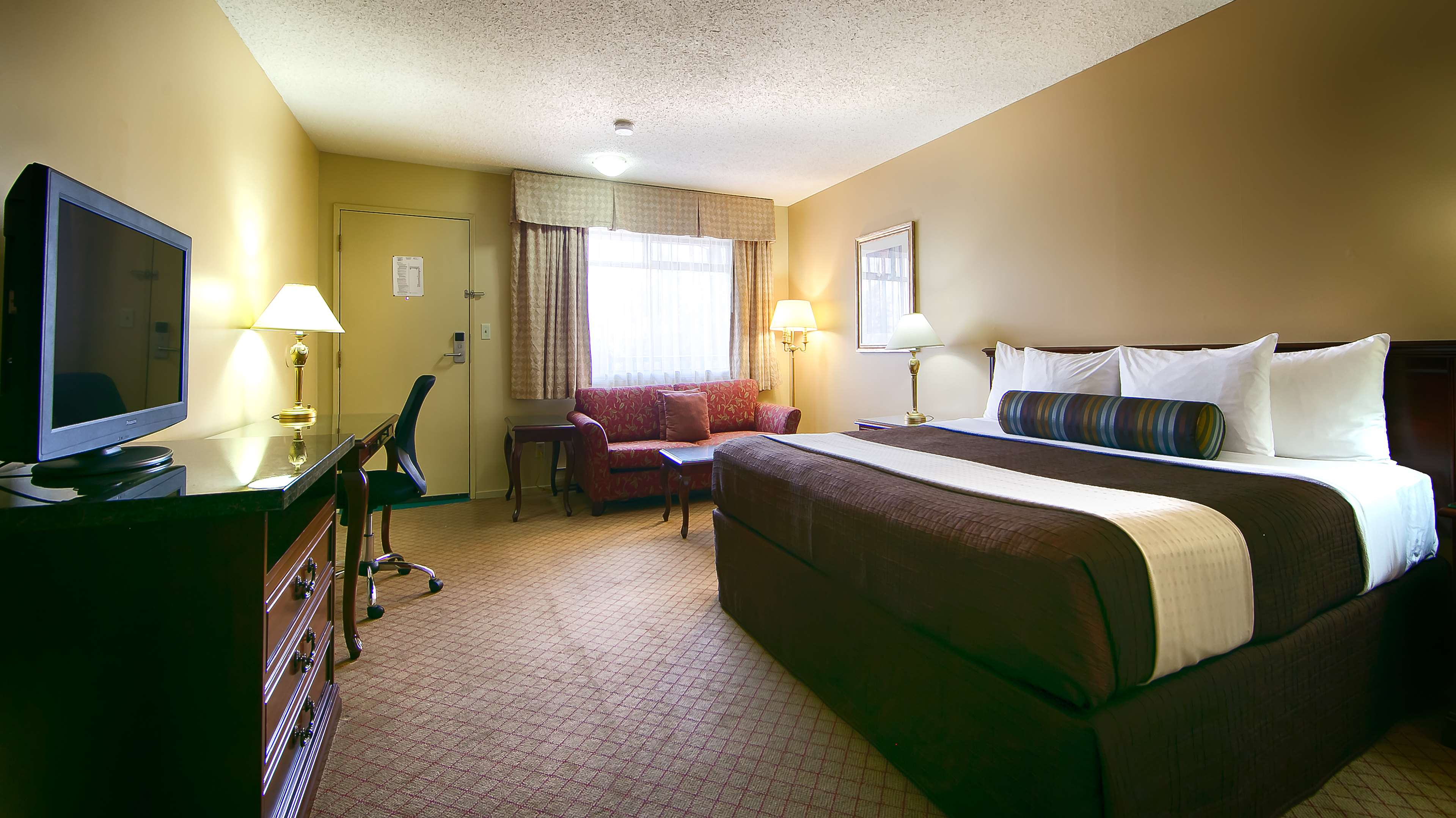 Best Western Bakerview Inn in Abbotsford: King Guest Room