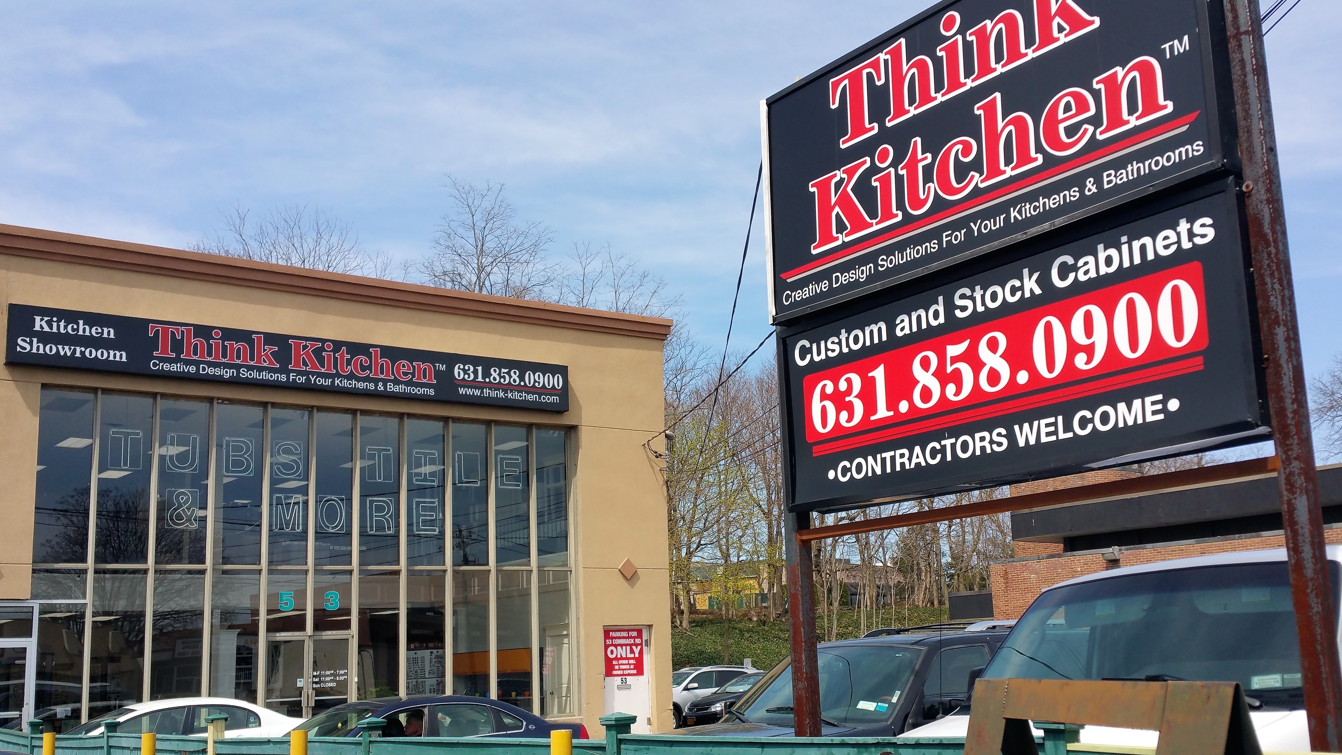 think kitchen design showroom commack new york cabinets