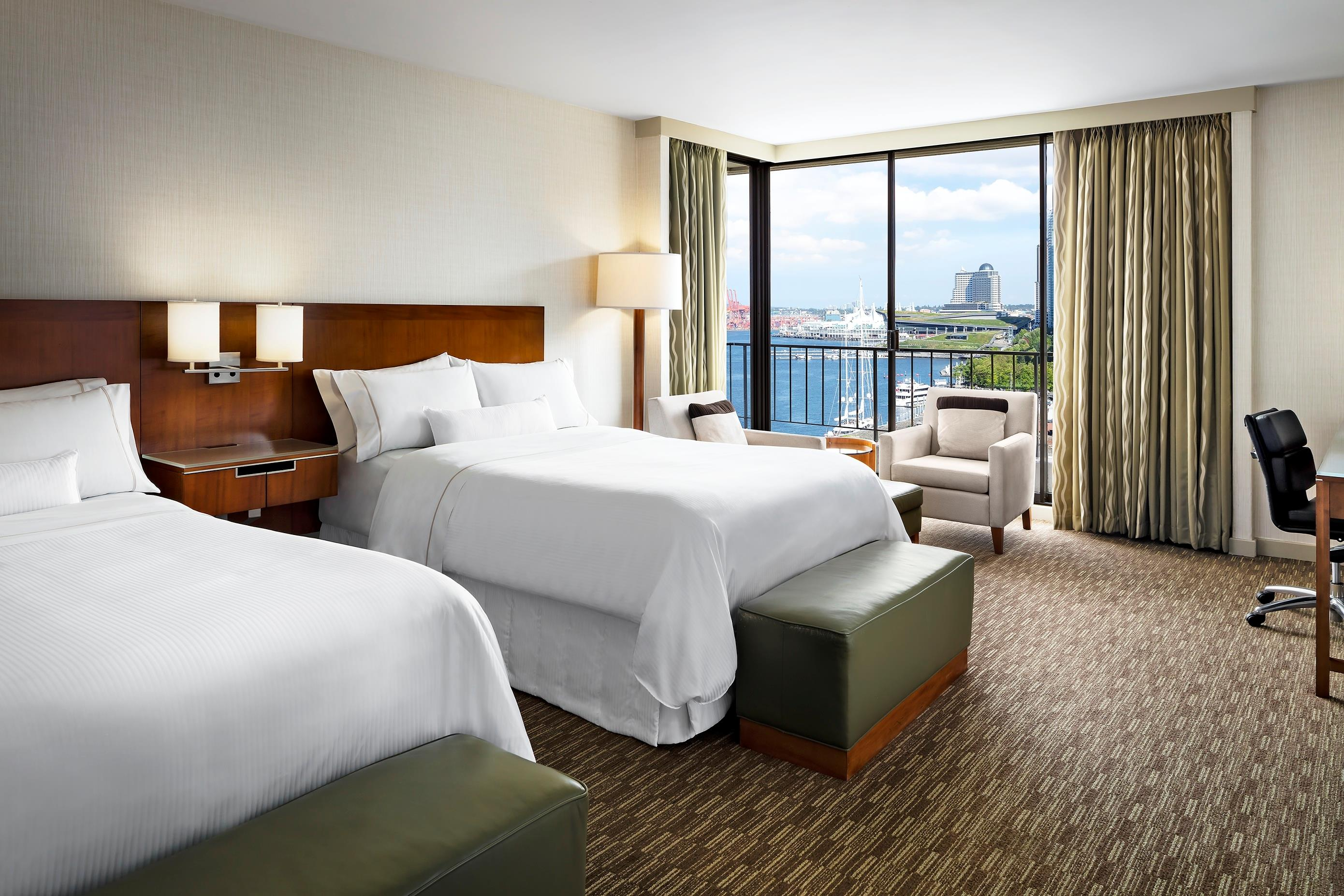 The Westin Bayshore, Vancouver in Vancouver: Premium Corner Harbour View Room