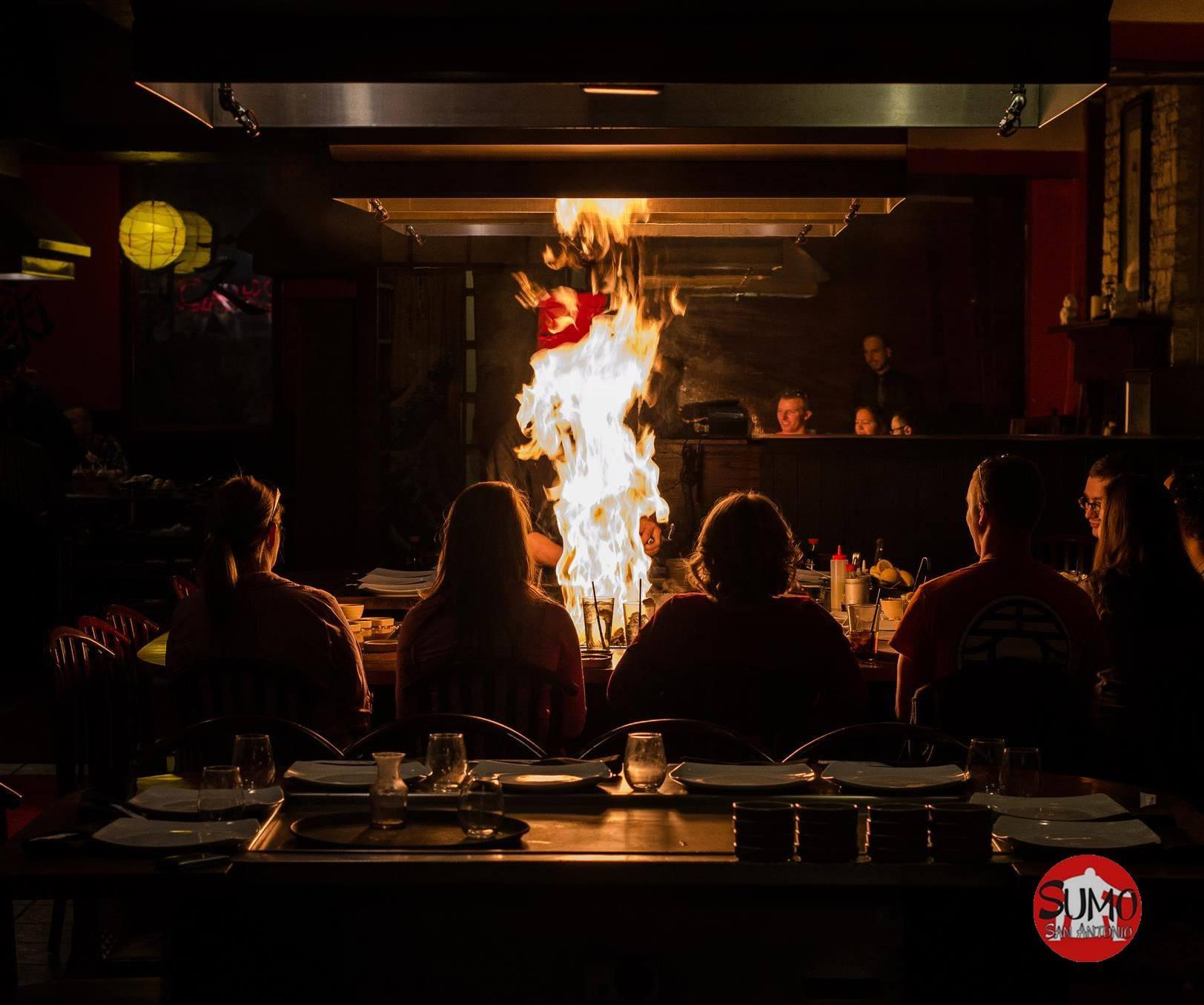 Sumo Japanese Steakhouse Japanese Restaurant San Antonio