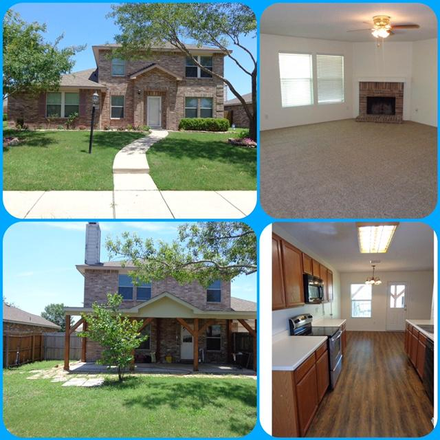 4 Bed, 2.5 Bath, 2 Car Garage, 2294 sf  Updated 4 bed, 2.1 bath, 2 living Rms, 2 dining Rms, & covered patio. Updates include new carpet, vinyl wood floors, HVAC 2014, hot water heater 2013, & garage