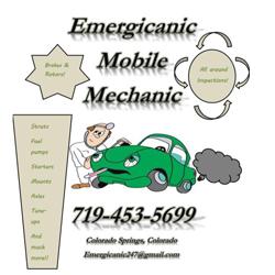 Emergicanic Mobile Mechanic Auto Repair Shop Colorado