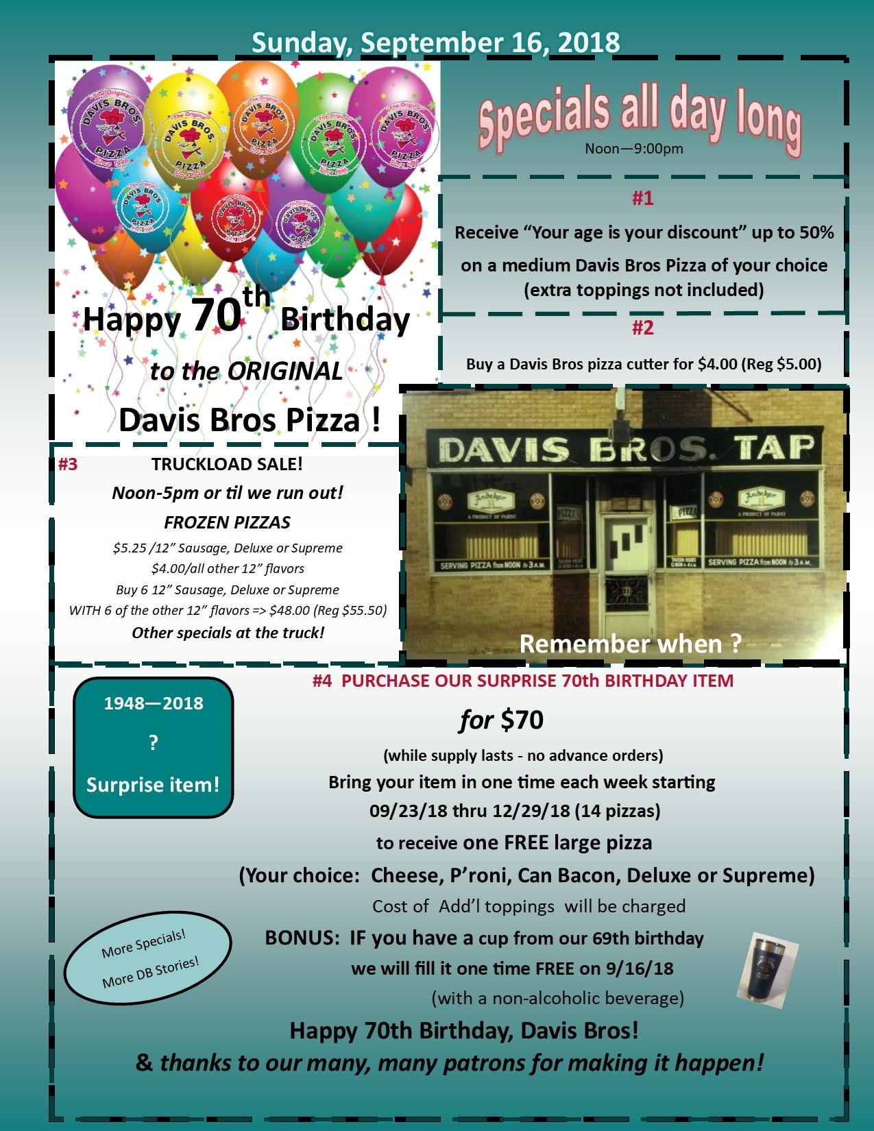 Davis Brothers Pizza image 9