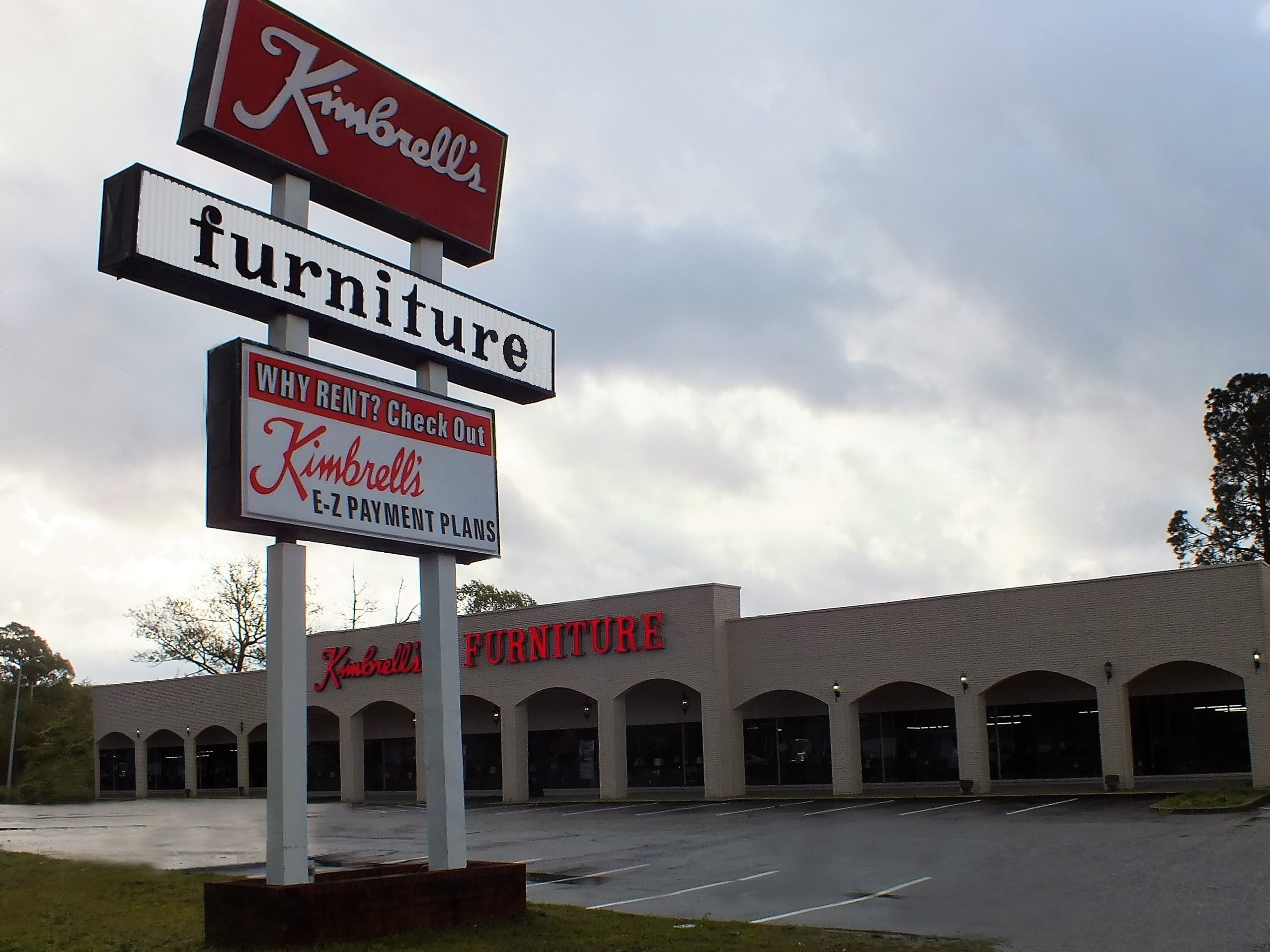 Kimbrell 39 s furniture in fayetteville nc 910 483 7 for Furniture r us fayetteville nc