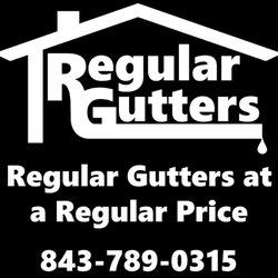 Regular gutters llc gutter contractor summerville sc for La motors summerville sc