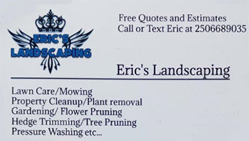 Eric's Landscaping