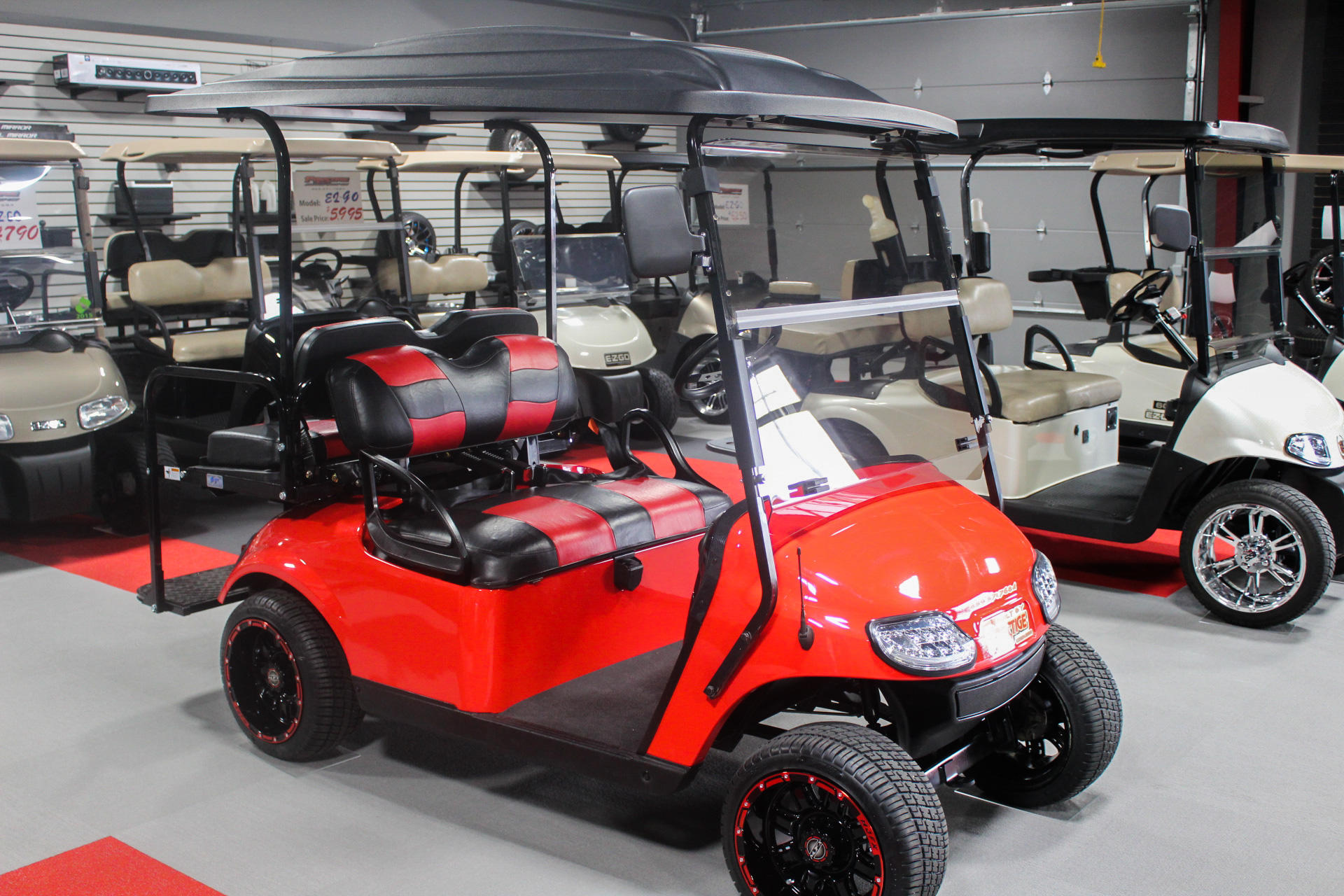 Prestige Auto Body & Golf Cars