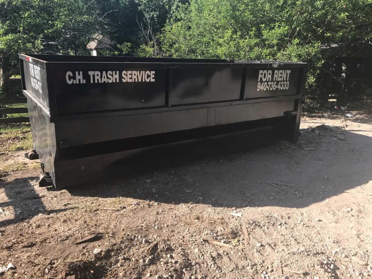 C.H. Trash Service - Dumpster Rental image 2