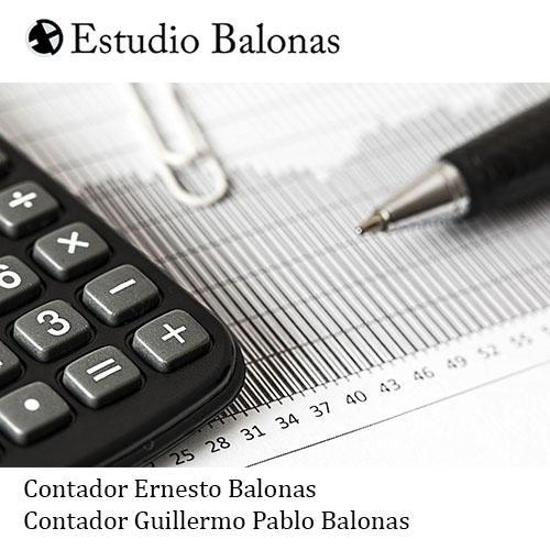 ESTUDIO CONTABLE BALONAS