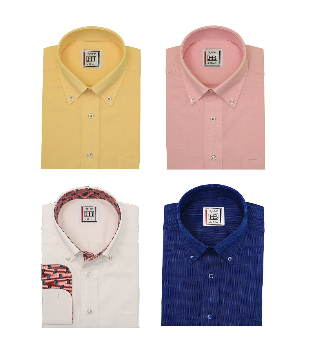 Endless variety of fabrics and many shirt styles to choose from