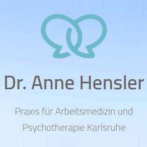 Logo von Praxis für Arbeitsmedizin und Psychotherapie Dr. Anne Hensler