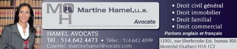 Étude Me Martine Hamel, Avocats à Pointe-Aux-Trembles
