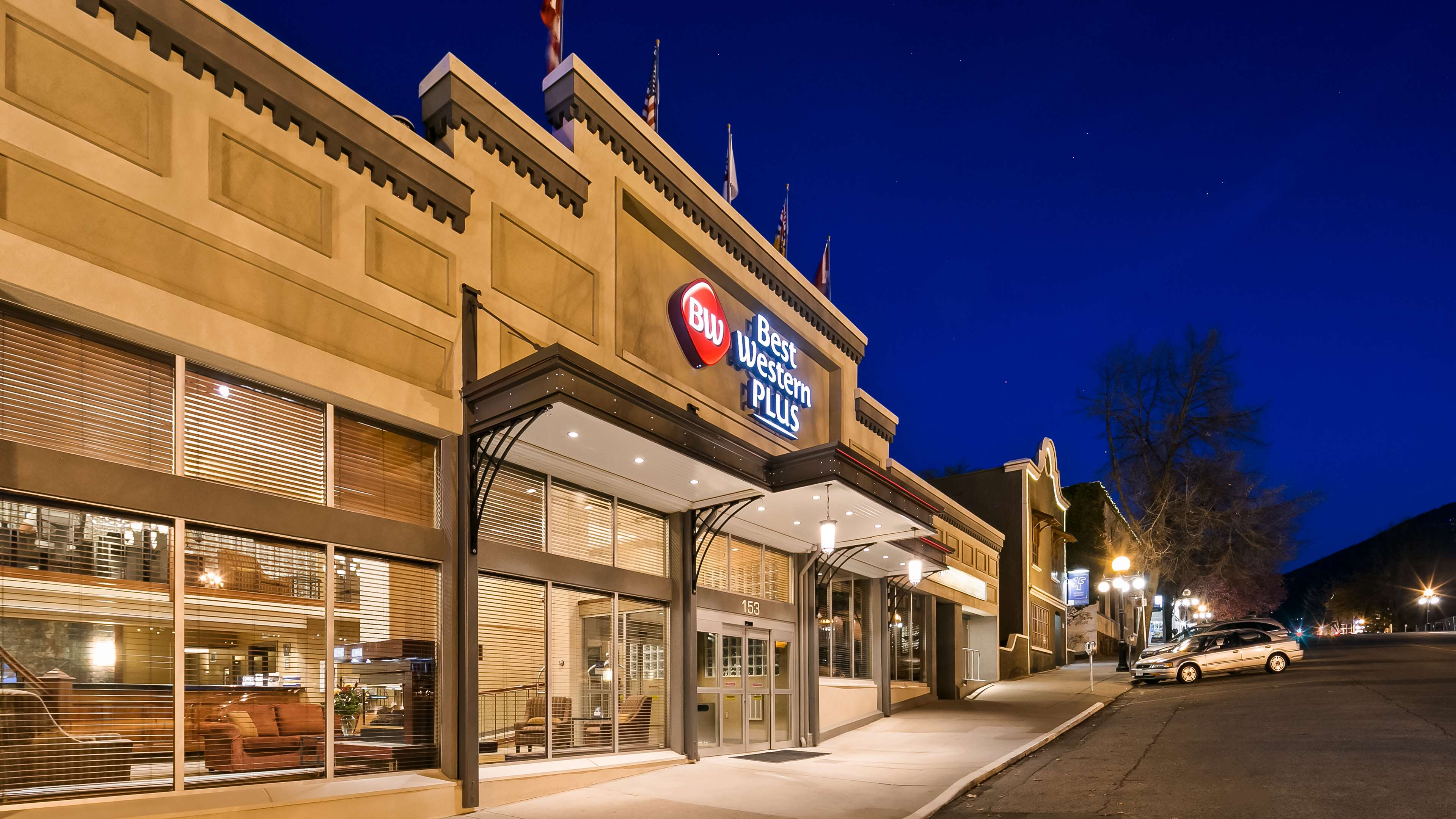Best Western Plus Baker Street Inn & Convention Centre in Nelson: Hotel Exterior