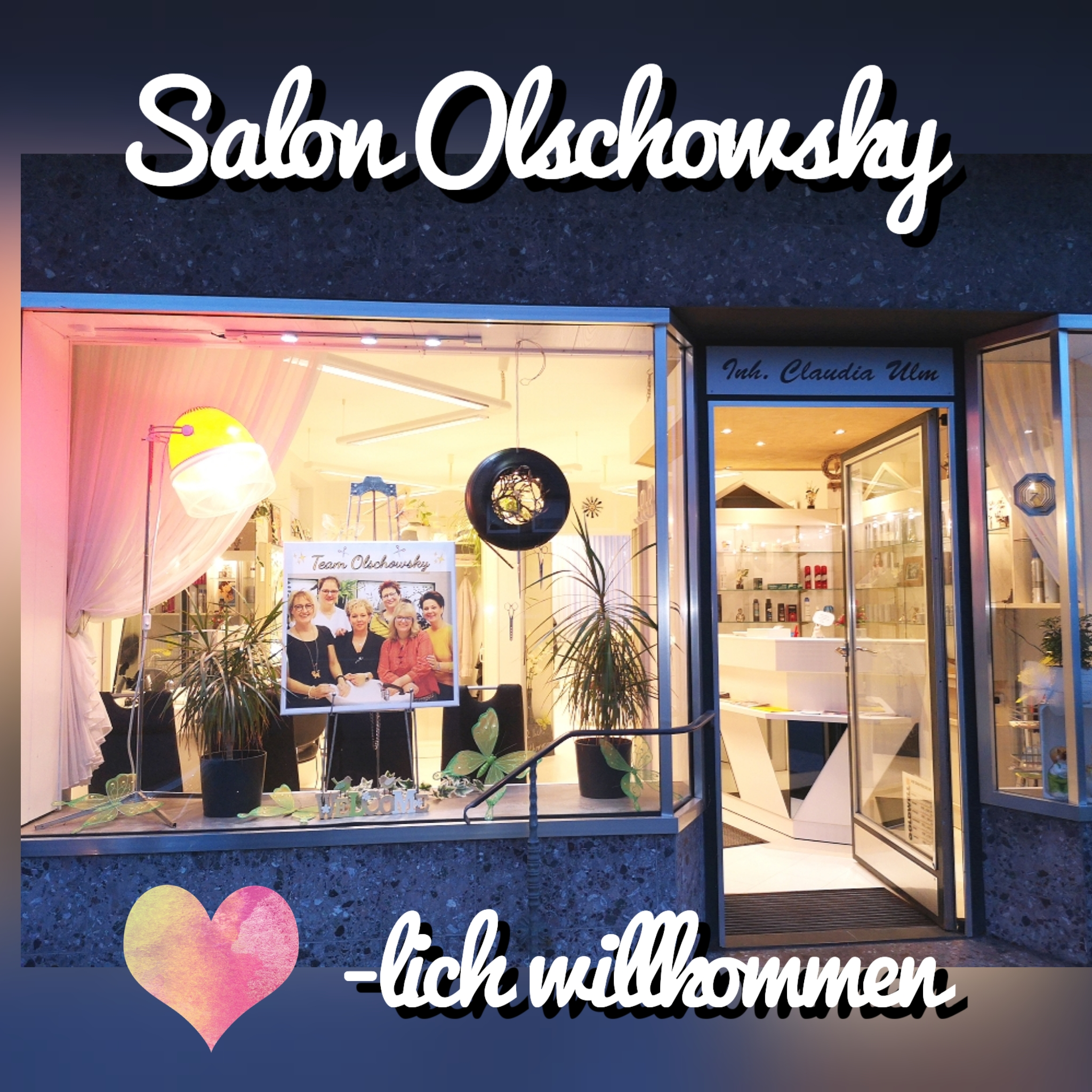 Logo von Salon Olschowsky Inhaber Claudia Ulm