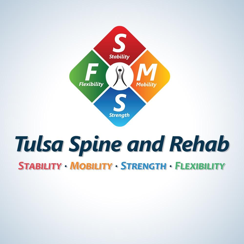 Tulsa Spine and Rehab Logo