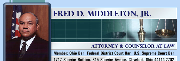 Fred Middleton Attorney at Law