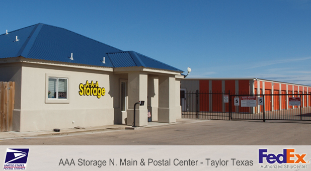 Aaa Storage N Main Postal Center Taylor Tx Business Directory