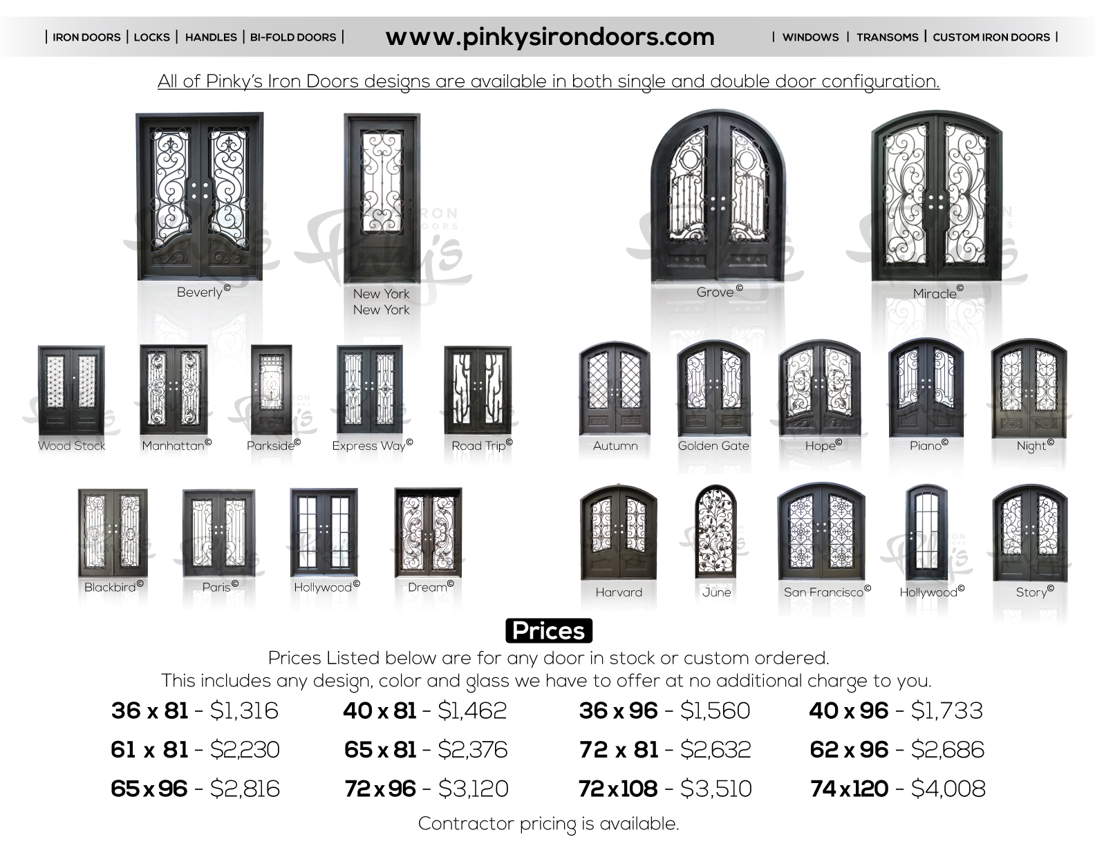 Pinky's Iron Doors image 23