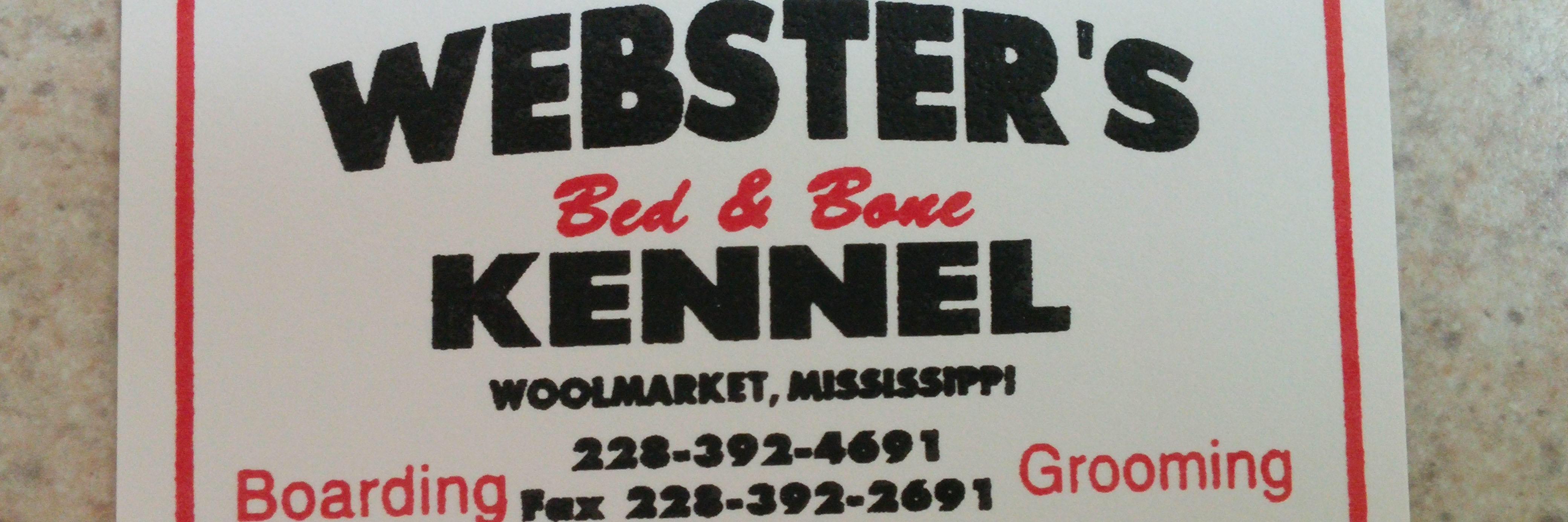 Websters Bed & Bone Kennel image 1