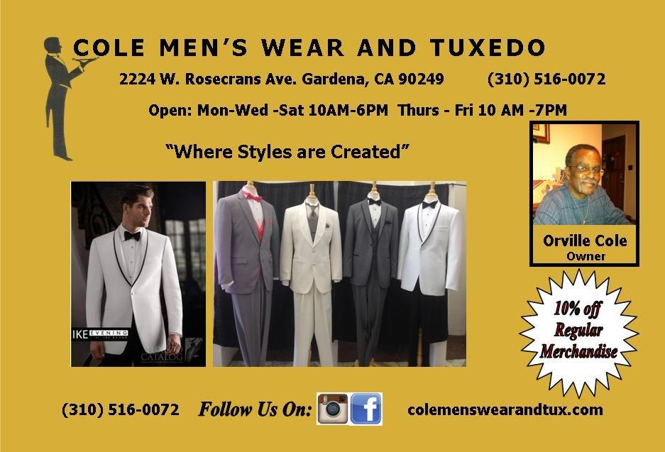 Cole Men's Wear and Tuxedos image 0