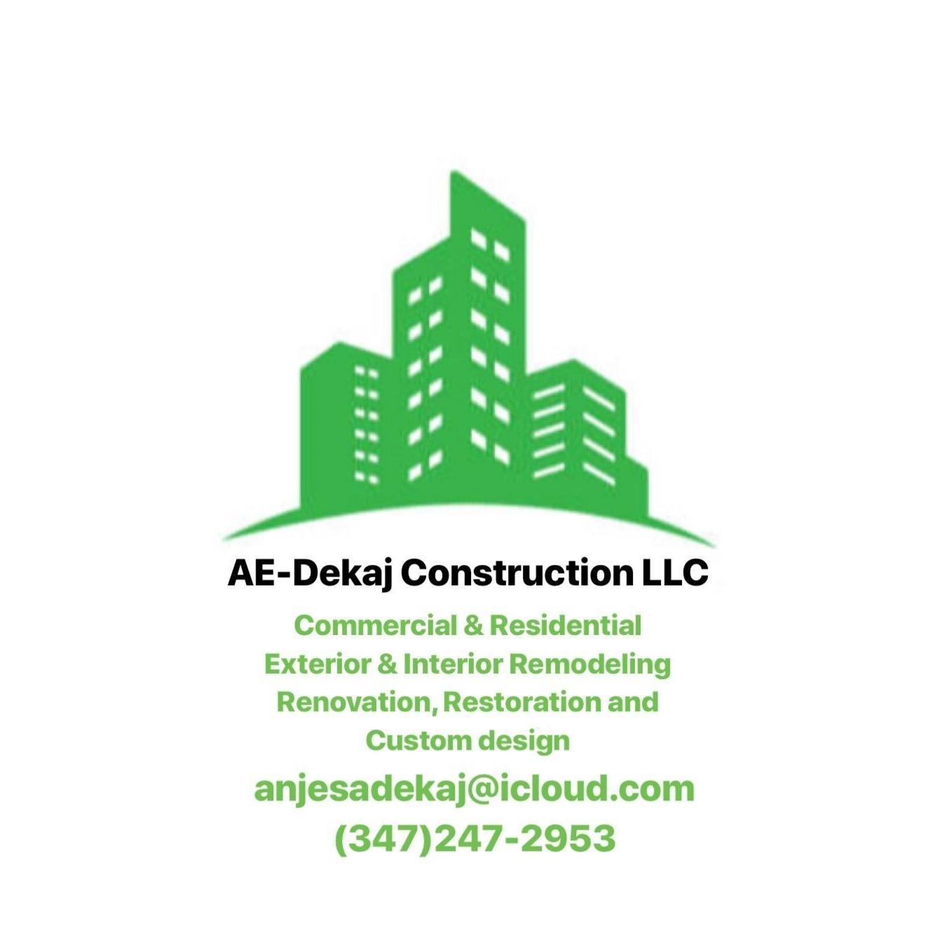 AE-Dekaj Construction LLC
