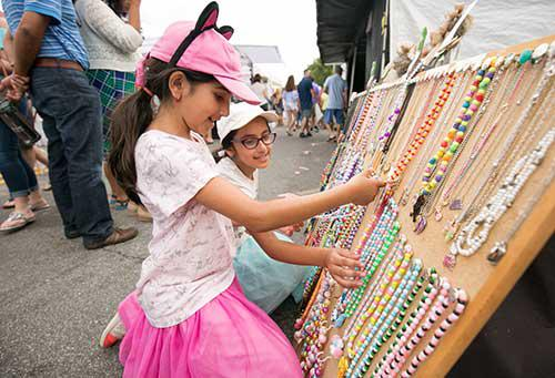 The Alpharetta Arts Streetfest will feature more than 90 artists from across the U.S. Festival goers can stroll through the outdoor gallery, meet the artists and acquire a piece of original whimsical