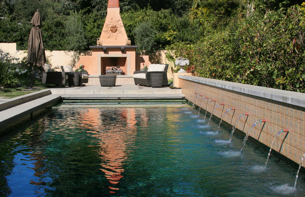 Los Angeles Swimming Pool Contractors In Los Angeles Ca Yellow Rachael Edwards