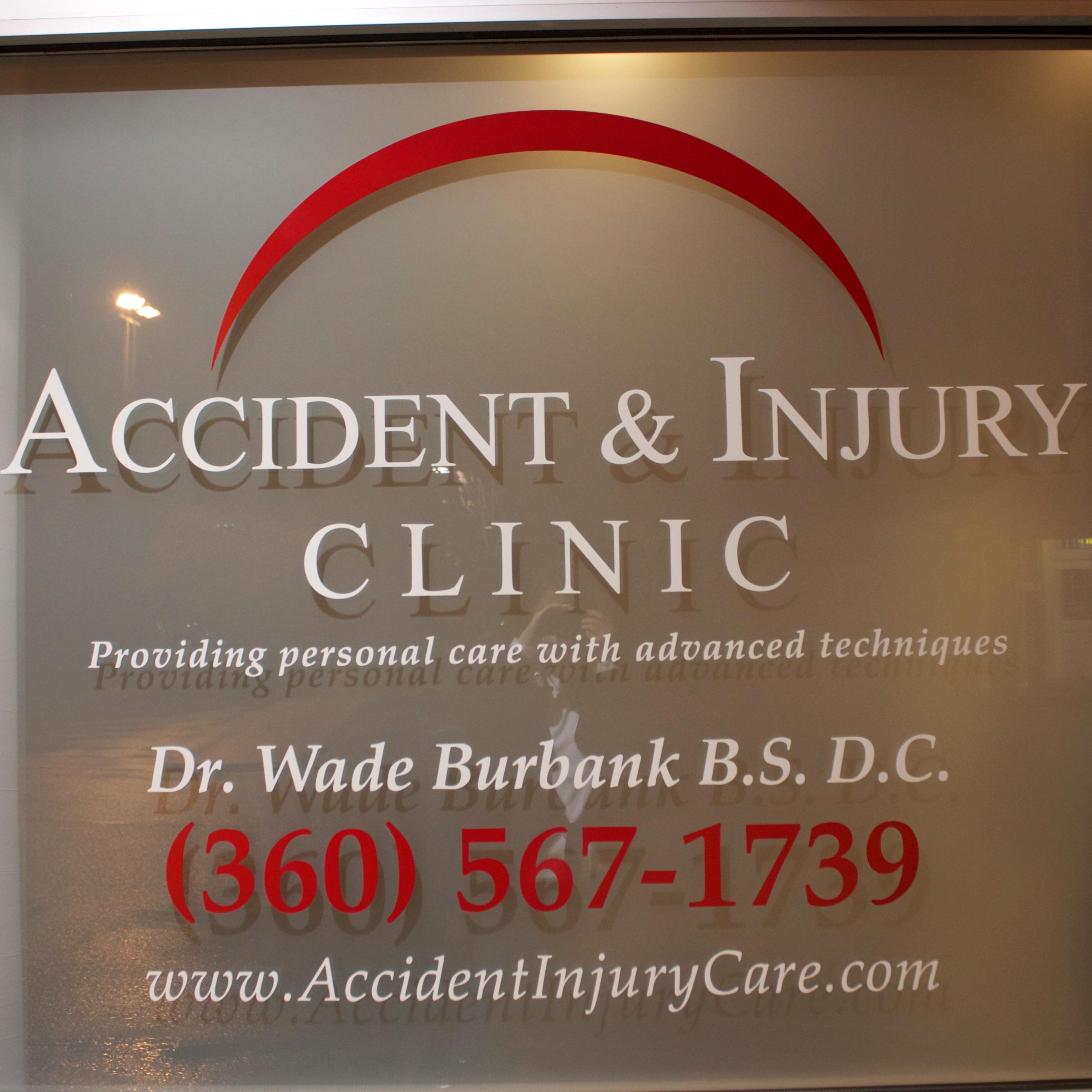 Dr Wade Burbank Chiropractor