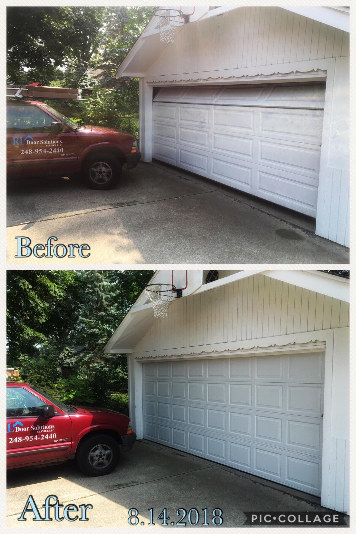 Rl Garage Door Solutions Service Llc Farmington Hills Mi Garage