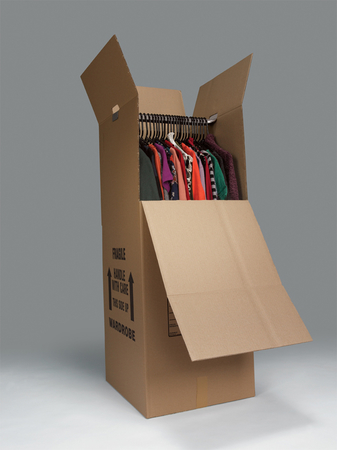 Phoenix movers have wardrobe boxes like these for your move