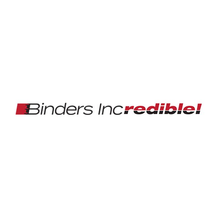 Binders Incredible!