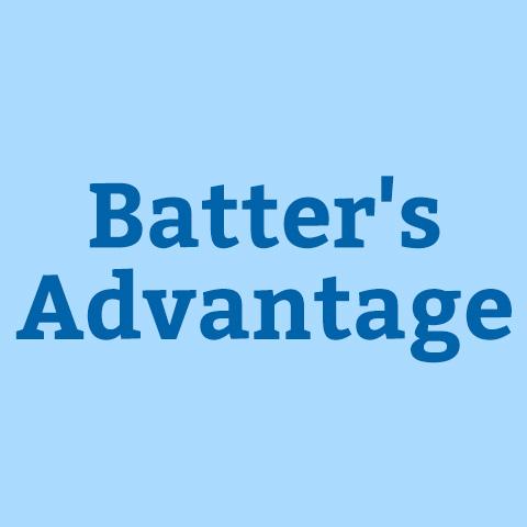 Batter's Advantage