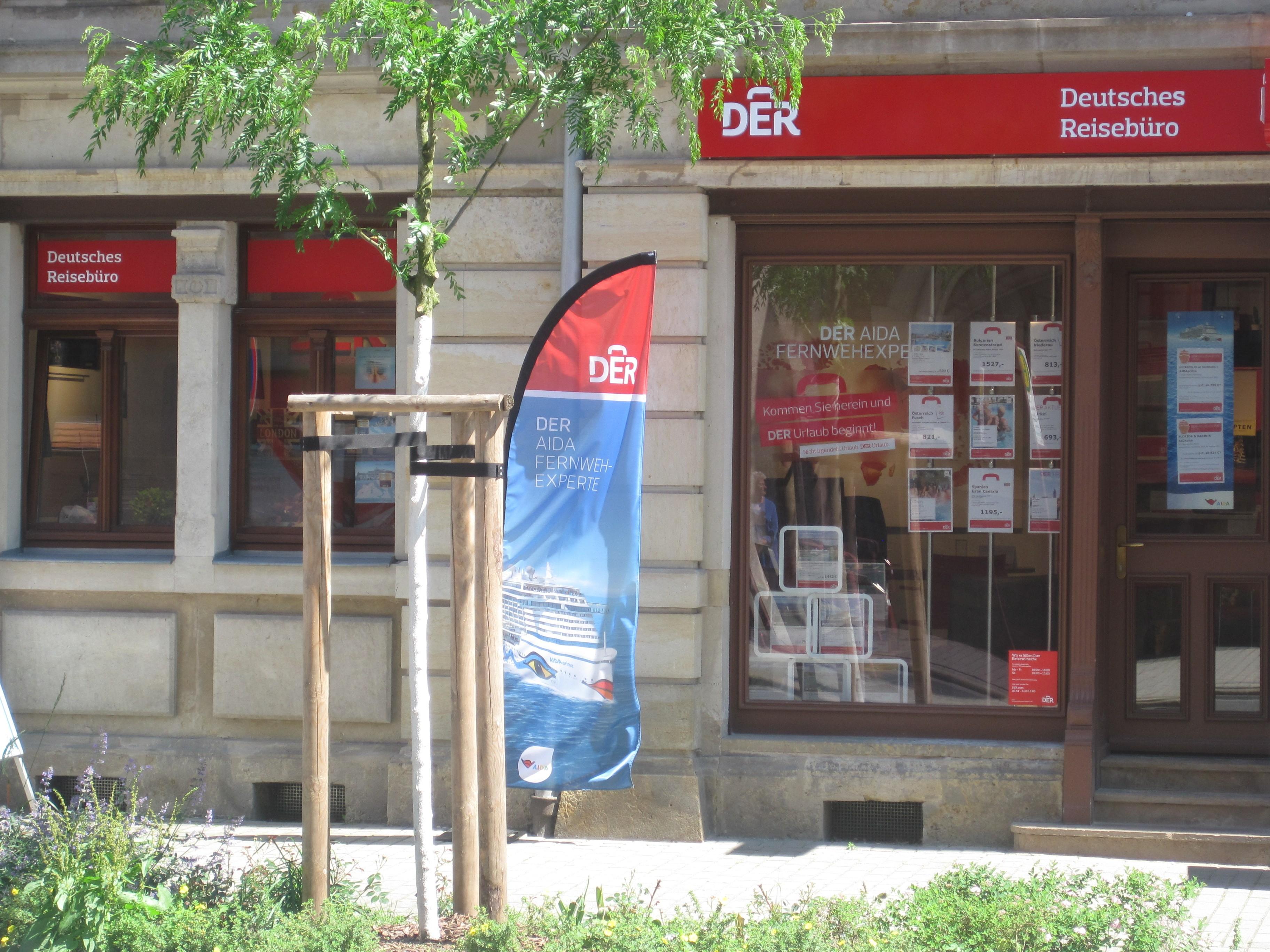 DER Deutsches Reisebüro, Dresdner Straße 59 in Freital