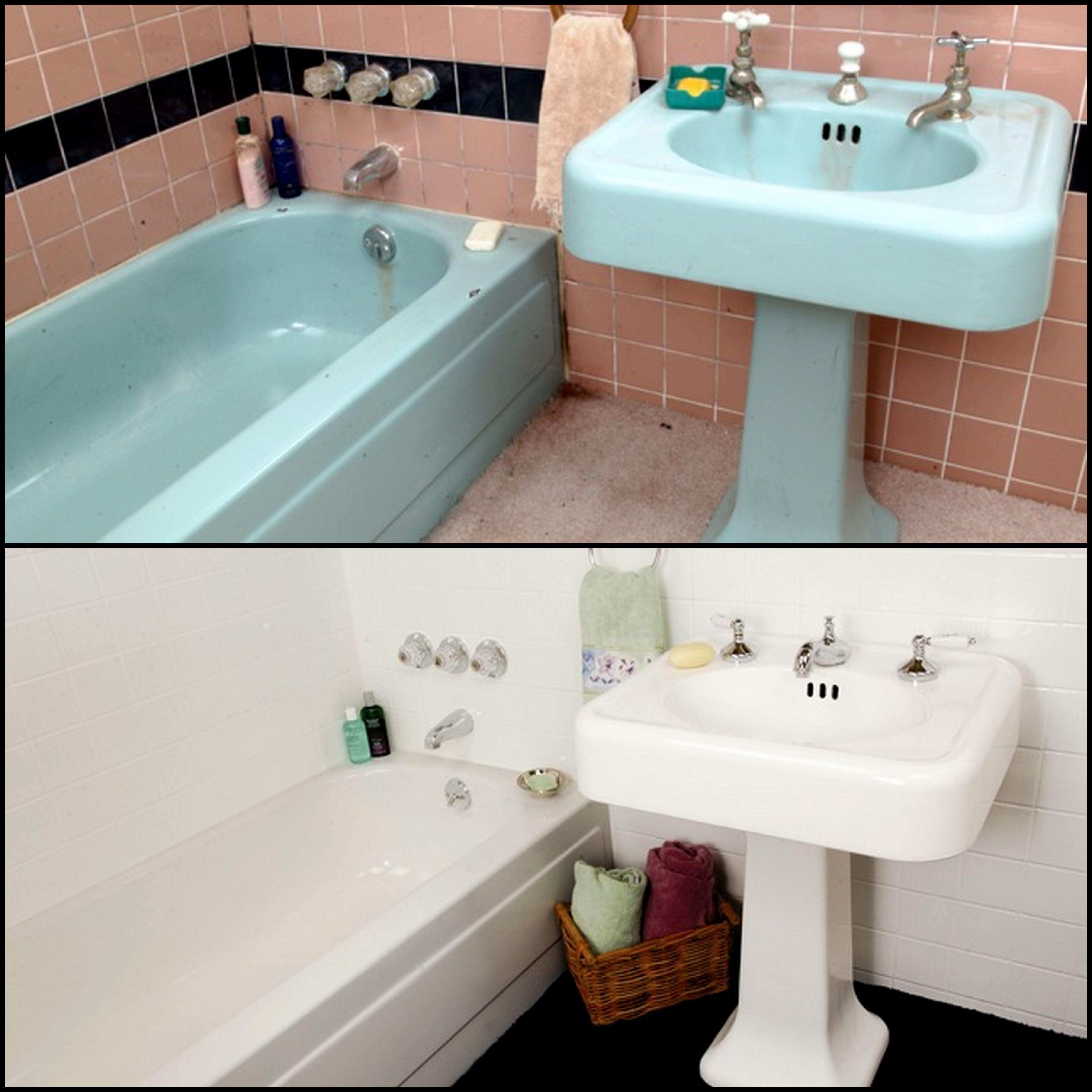 sink years countertops tubs releases green refinishing miracle as a method celebrates sinks before red remodeler htm media