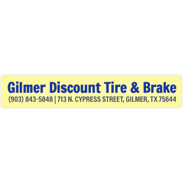 Sulphur Springs Tx Gilmer Discount Tire Brake Find Gilmer