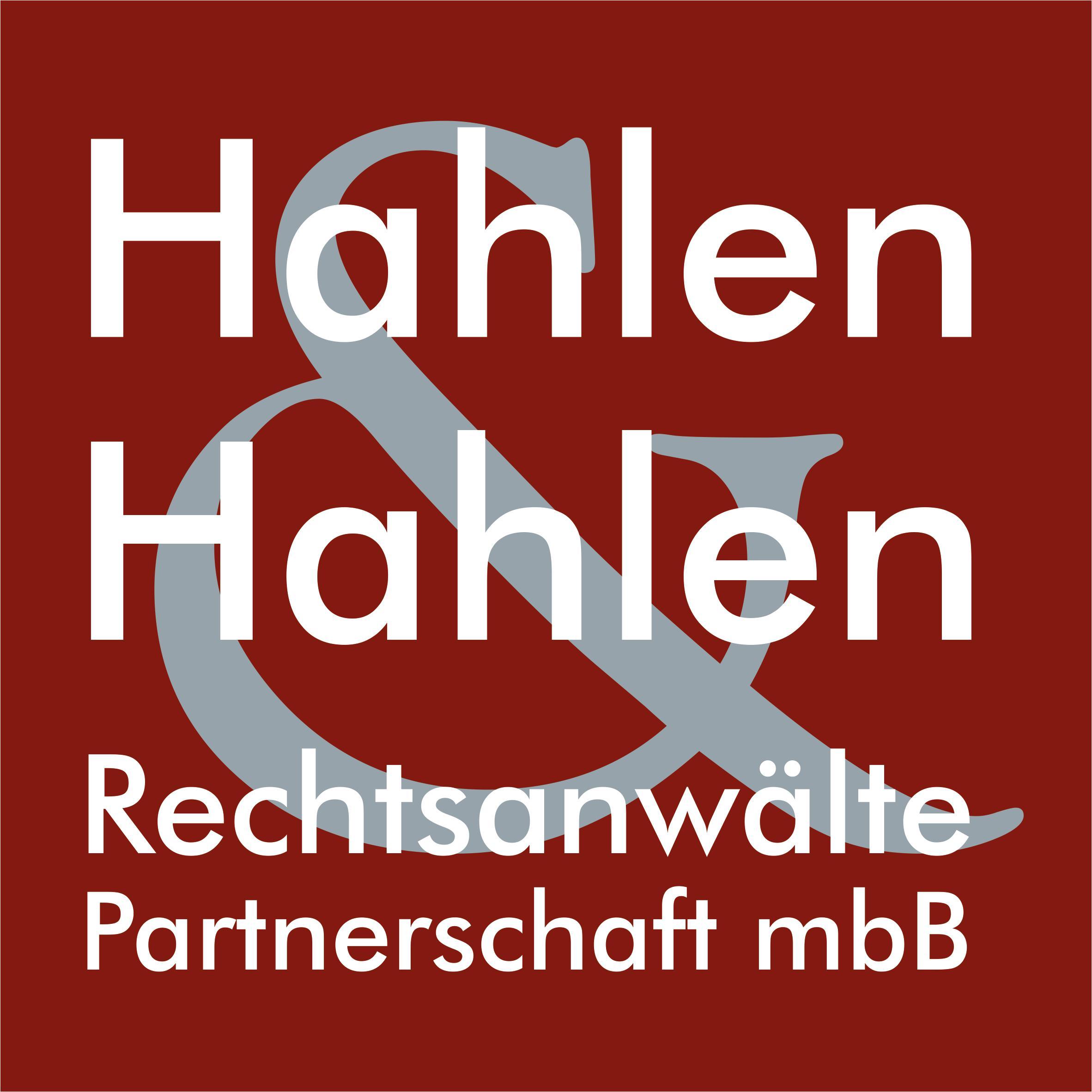 Logo von Rechtsanwälte Hahlen & Hahlen Partnerschaft mbB