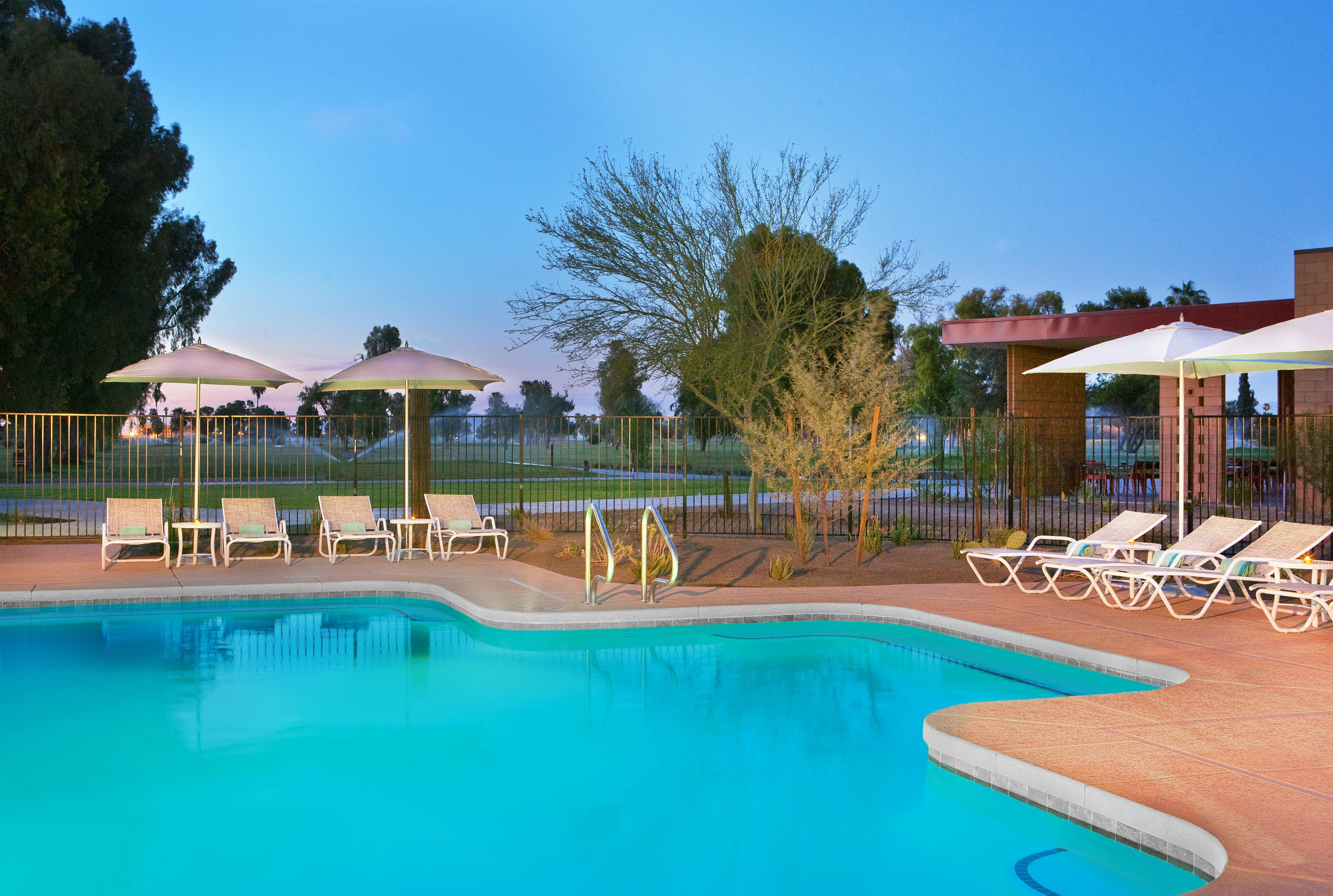 Four Points By Sheraton At Phoenix Mesa Gateway Airport 6850 E Williams Field Road Az Hotels Motels Mapquest