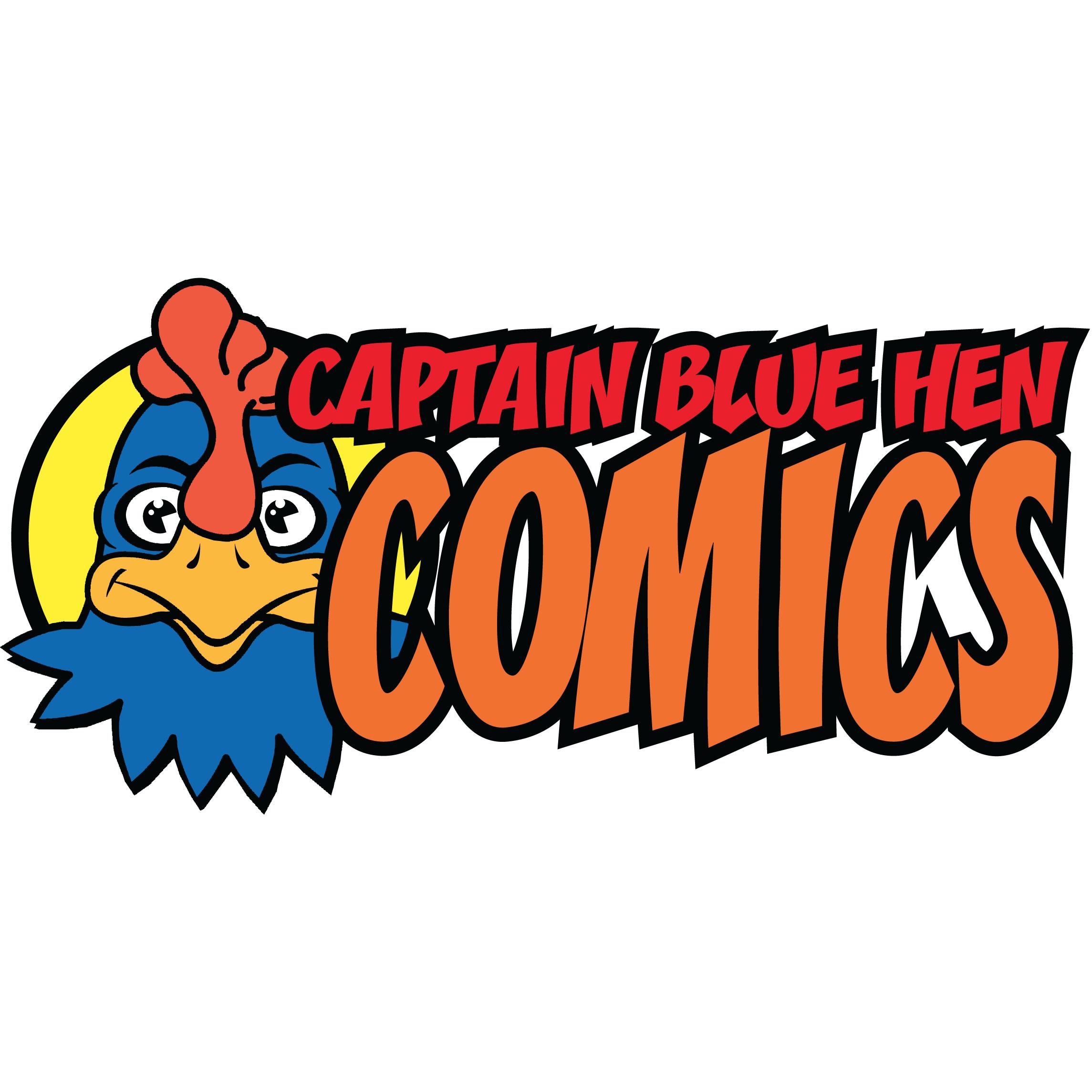 Captain Blue Hen Comics
