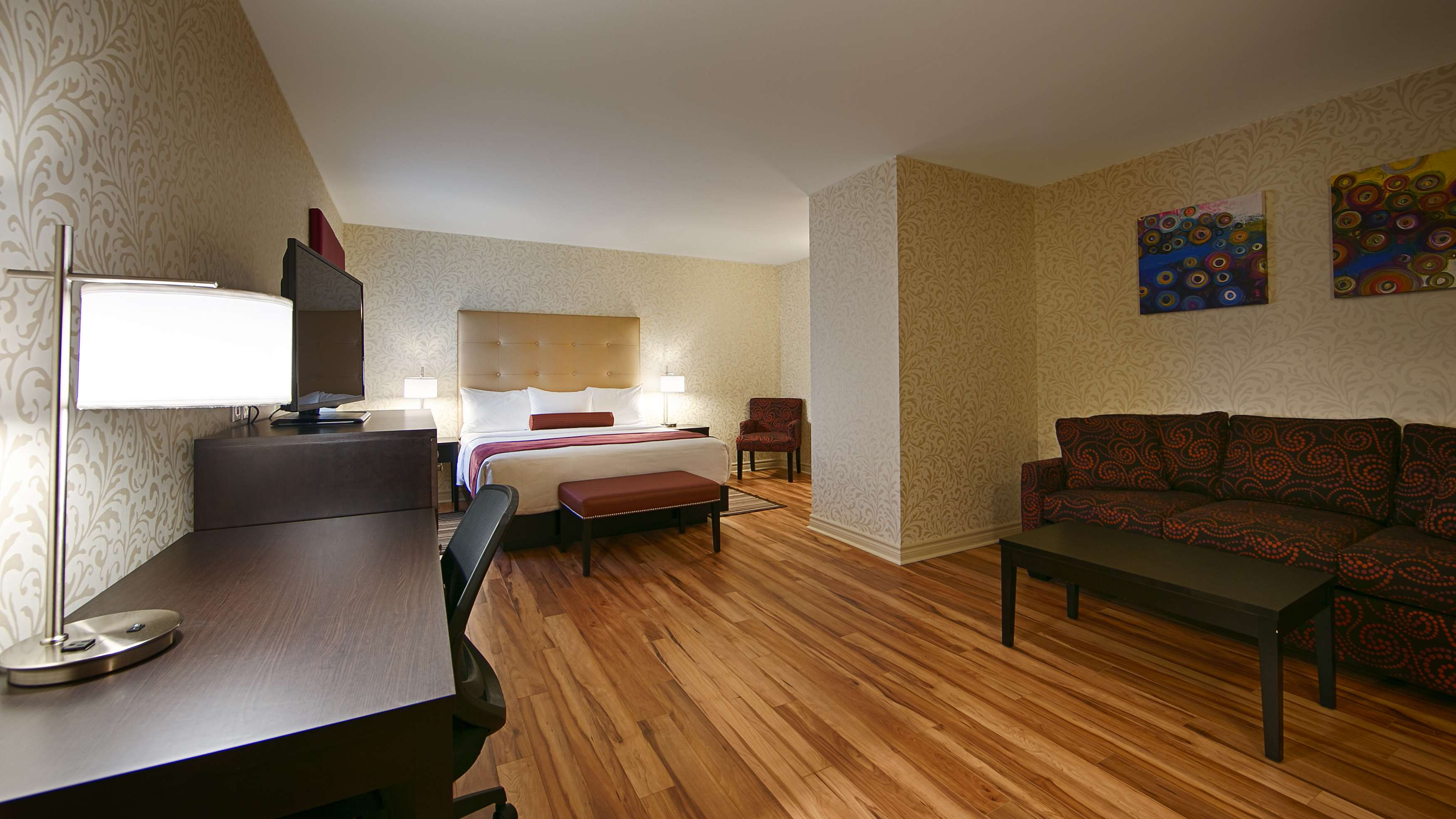 Best Western Plus Montreal Downtown-Hotel Europa à Montreal: King Executive
