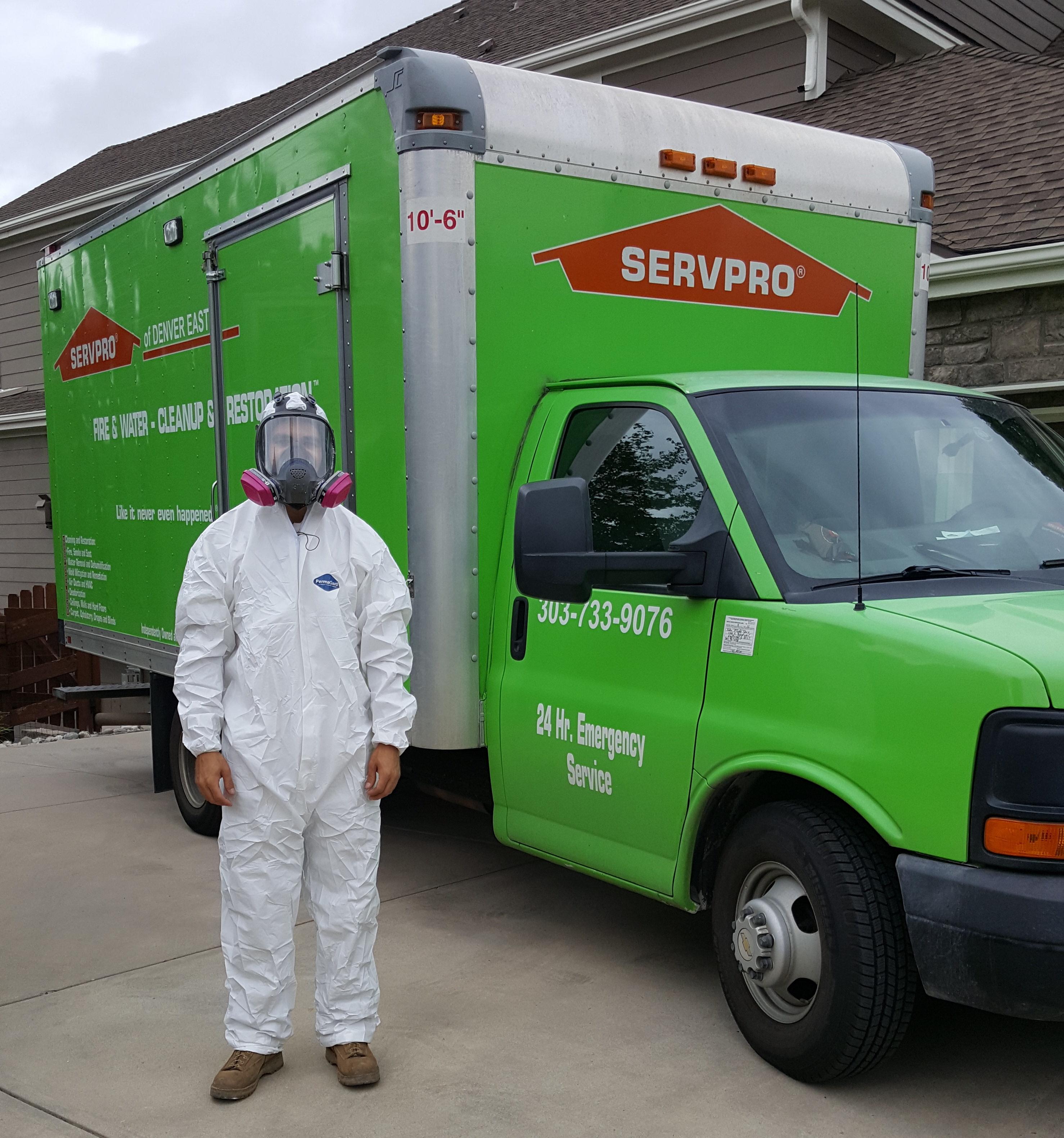 Servpro Of Denver East In Littleton Co 303 733 9