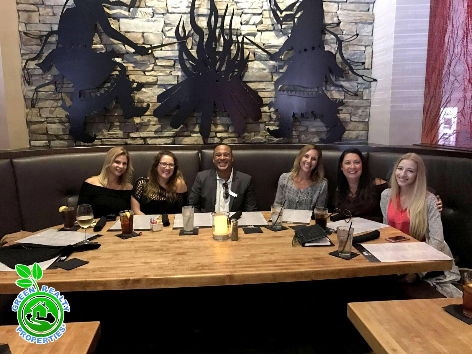 Green Realty Real Estate Agents! Our Green Realty Team Celebration!
