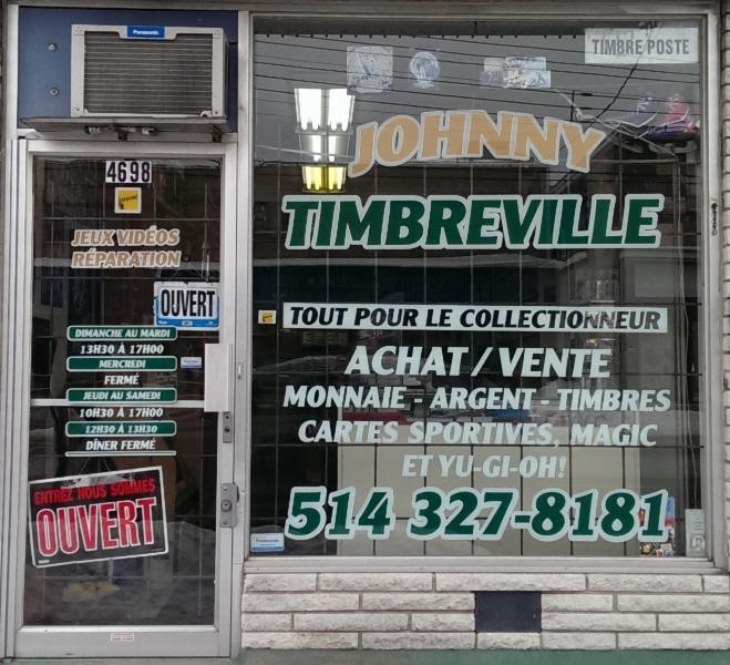 Timbre Ville Johnny à Montréal-Nord
